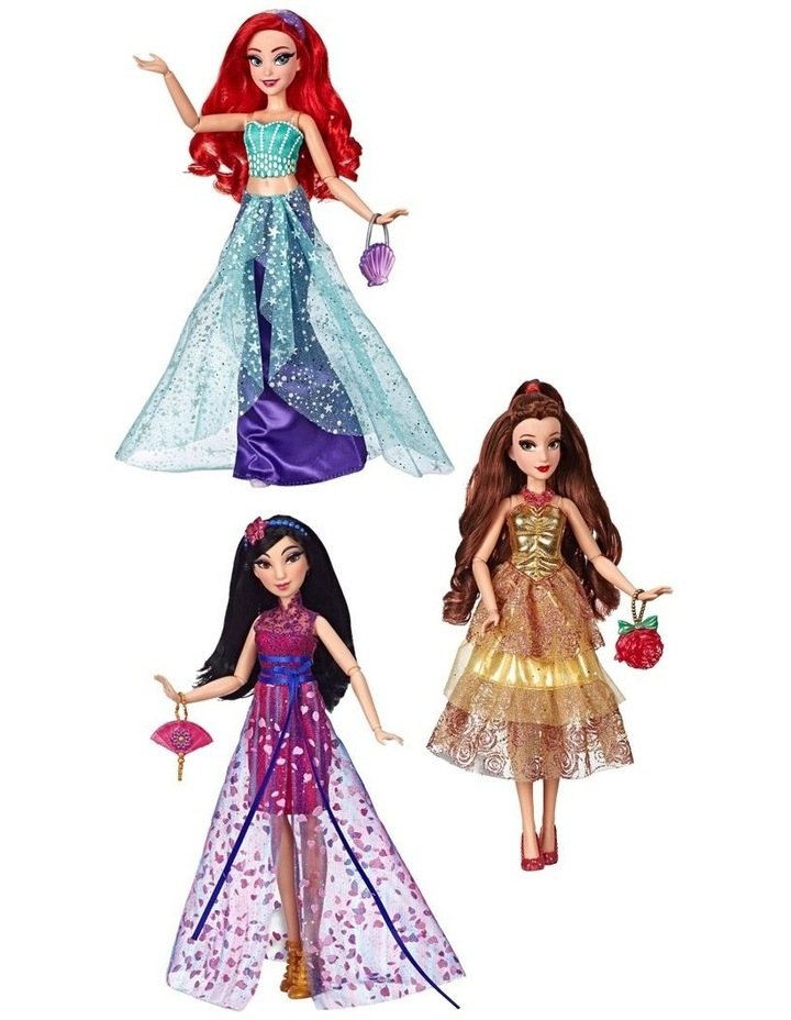 Style Series Dolls Ariel/Belle/Mulan Assortment image 7