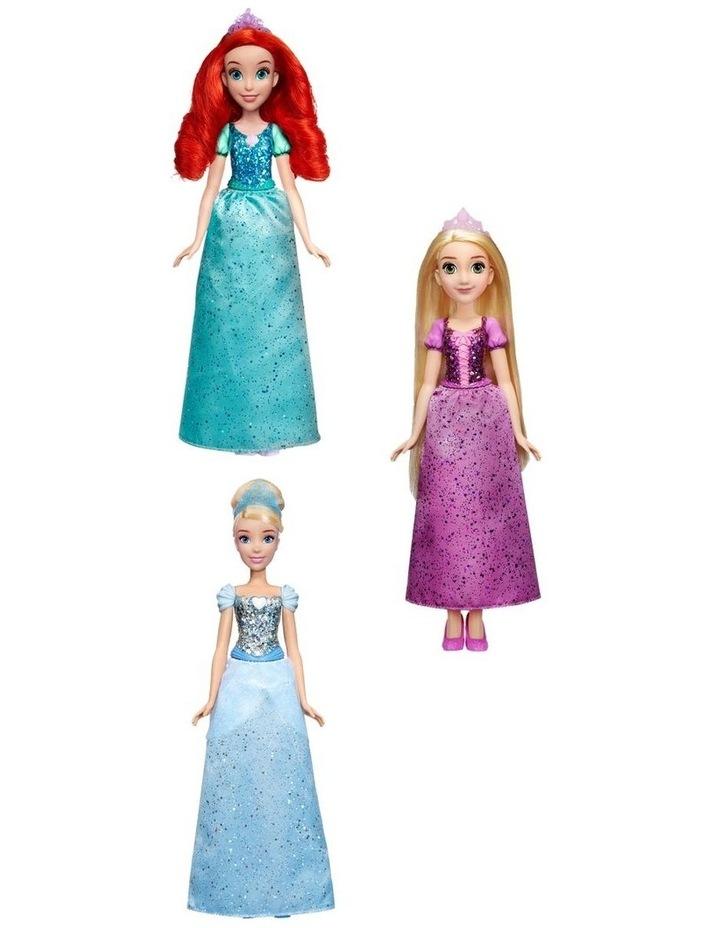 Royal Shimmer Dolls  - Ariel /Rapunzel/Cinderella  Assortment image 1