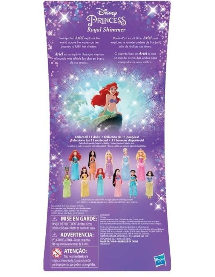 Royal Shimmer Dolls  - Ariel /Rapunzel/Cinderella  Assortment image 2