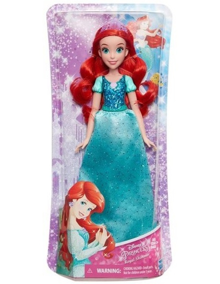 Royal Shimmer Dolls  - Ariel /Rapunzel/Cinderella  Assortment image 3