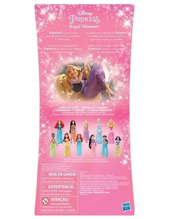 Royal Shimmer Dolls  - Ariel /Rapunzel/Cinderella  Assortment image 4