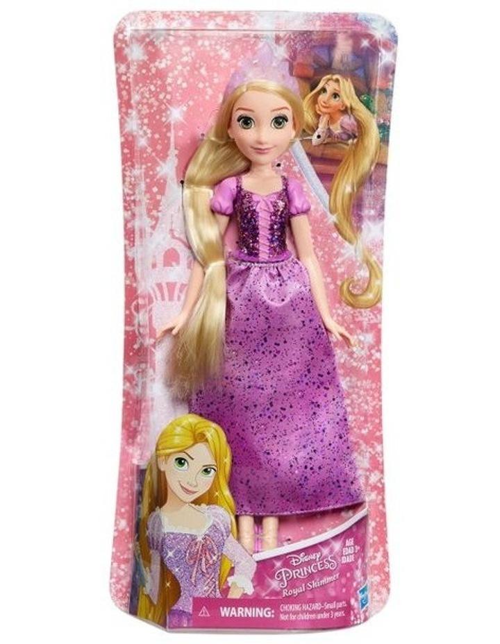 Royal Shimmer Dolls  - Ariel /Rapunzel/Cinderella  Assortment image 5