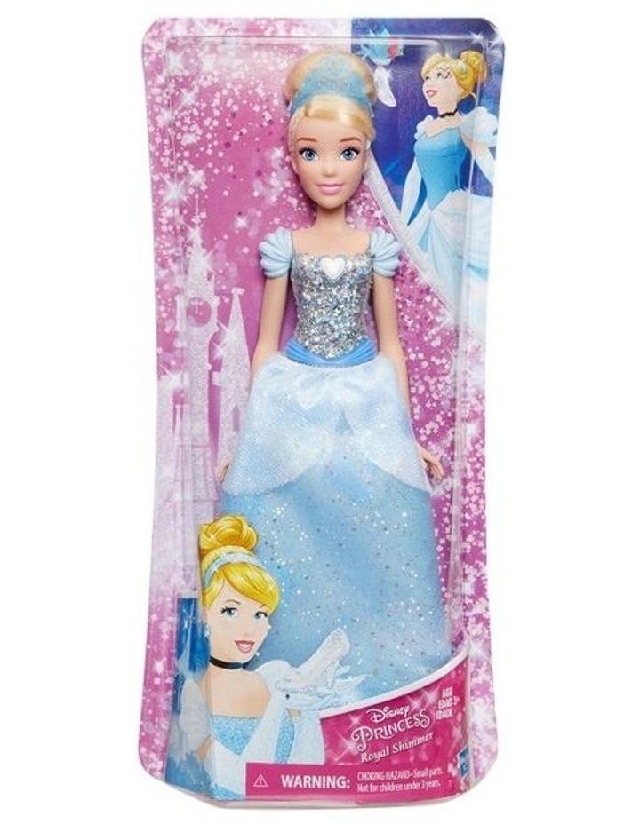 Royal Shimmer Dolls  - Ariel /Rapunzel/Cinderella  Assortment image 7