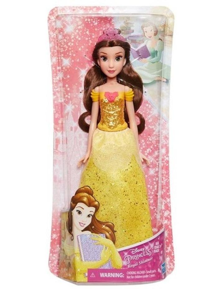 Royal Shimmer Dolls - Belle/Aurora/Snow White/Tiana Assortment image 2