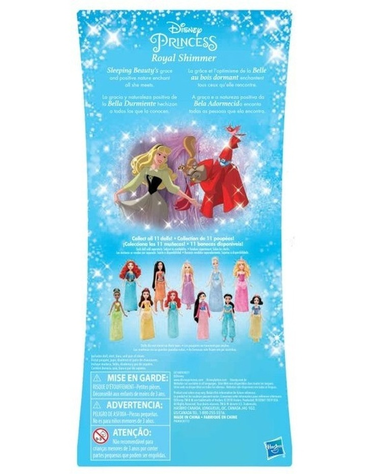 Royal Shimmer Dolls - Belle/Aurora/Snow White/Tiana Assortment image 5