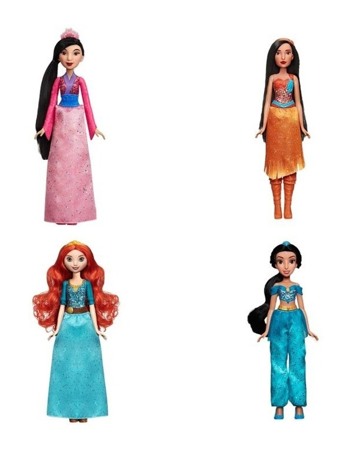 Royal Shimmer Dolls - Jasmine/Merida/Pocahontas/Mulan Assortment image 1