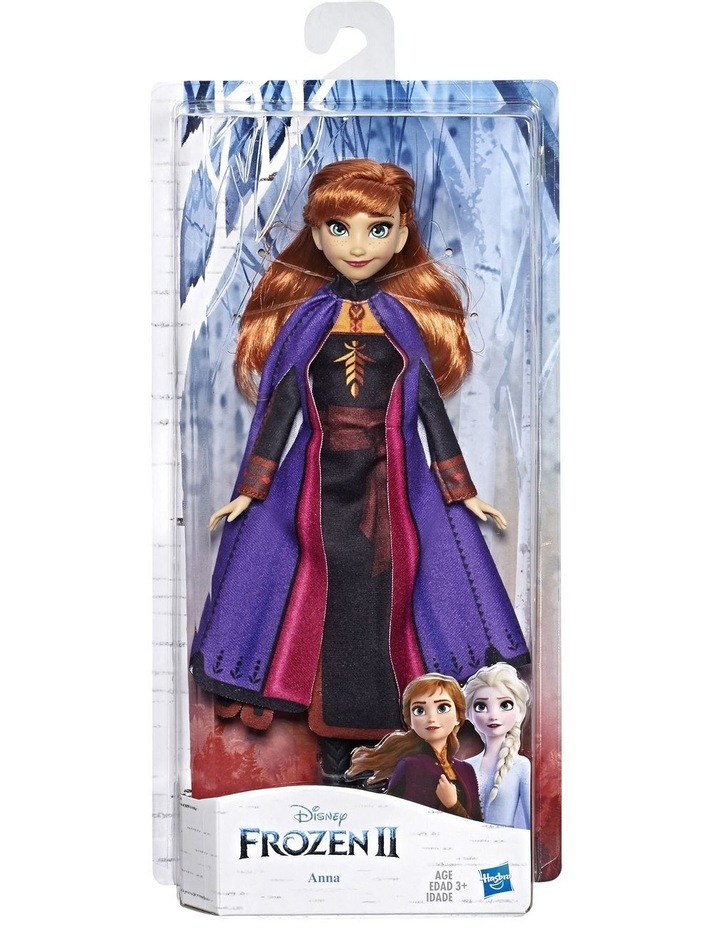Frozen 2 Anna Fashion Doll in Long Red Hair & Movie Inspired Outfit image 1