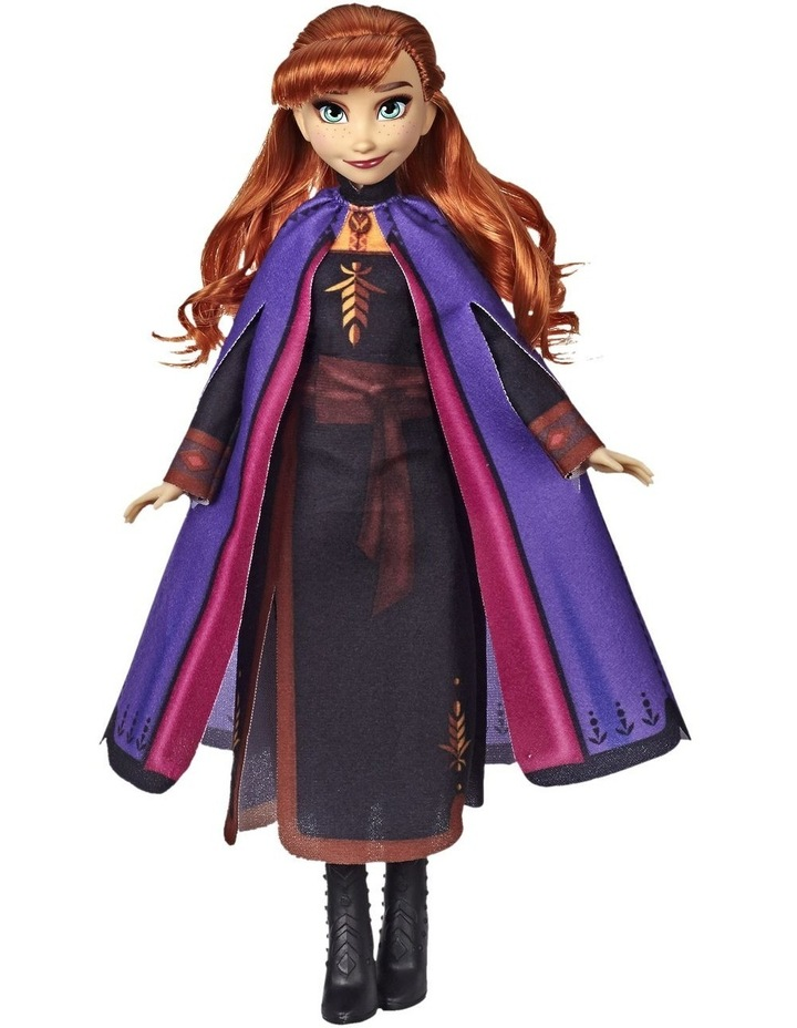 Frozen 2 Anna Fashion Doll in Long Red Hair & Movie Inspired Outfit image 3