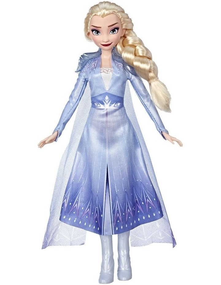Frozen 2 Elsa Fashion Doll in Long Blonde Hair & Blue Movie Inspired Outfit image 2