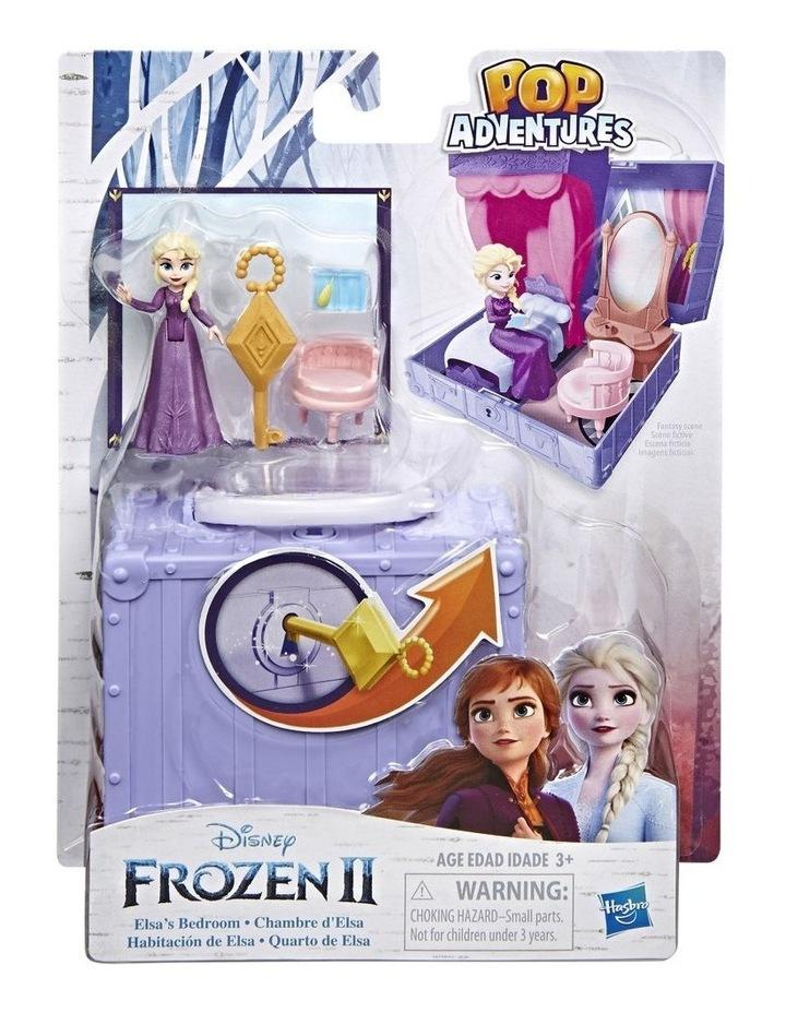 Frozen 2 Pop Adventures - Pop Up Play Set with Handle - Elsa's Bedroom - Village Set - Assortment image 1