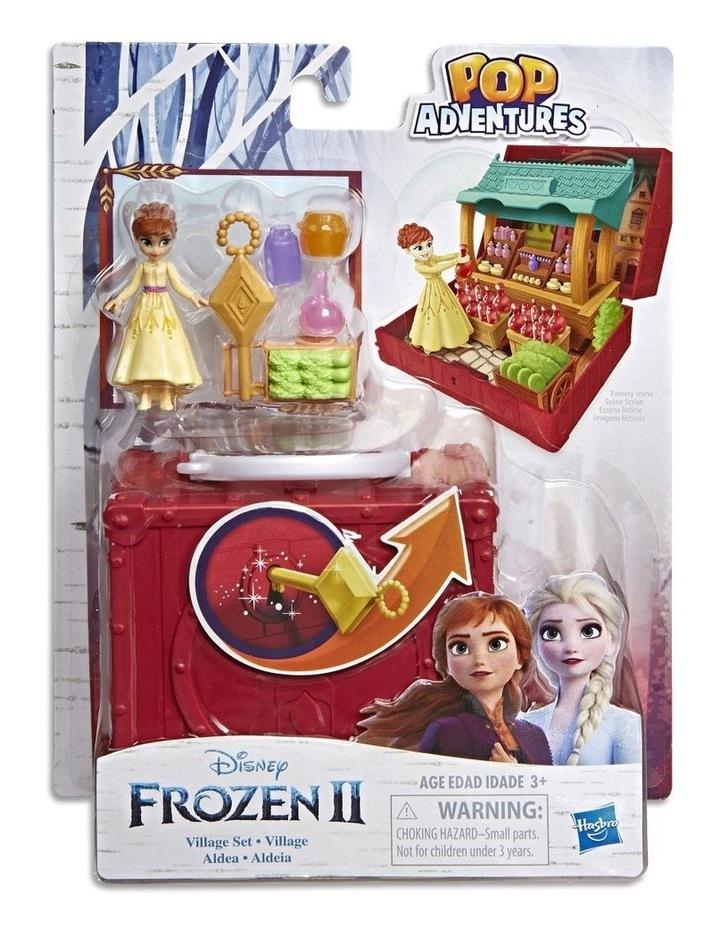 Frozen 2 Pop Adventures - Pop Up Play Set with Handle - Elsa's Bedroom - Village Set - Assortment image 2