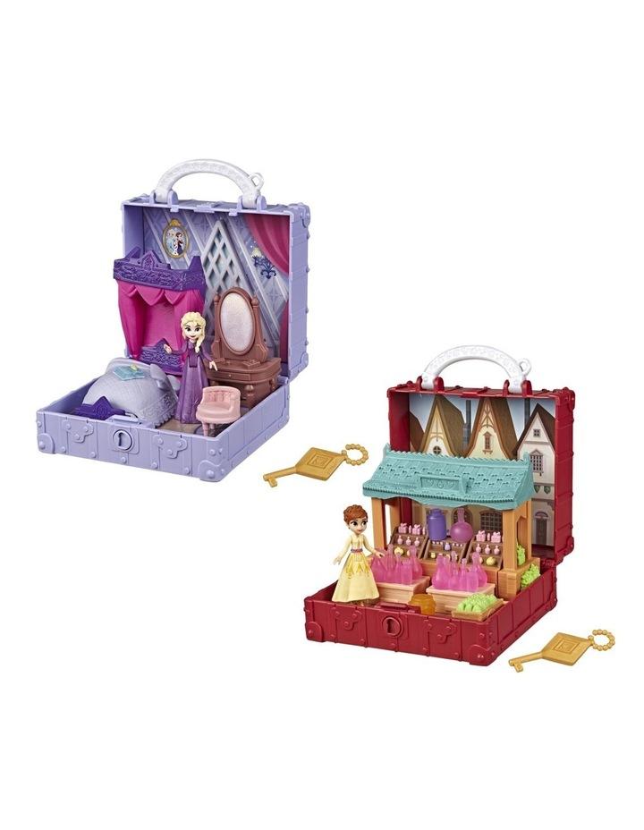 Frozen 2 Pop Adventures - Pop Up Play Set with Handle - Elsa's Bedroom - Village Set - Assortment image 7