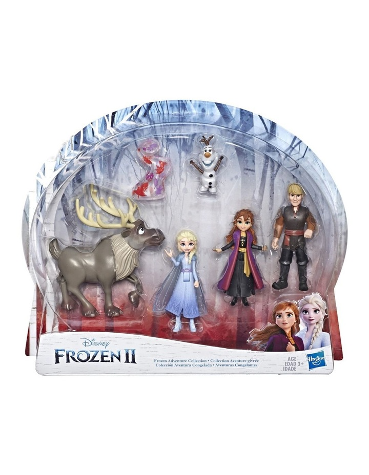 Frozen 2 Frozen Adventure Collection - 5 Small Dolls inc Anna, Elsa, Kristoff, Sven & Olaf image 1