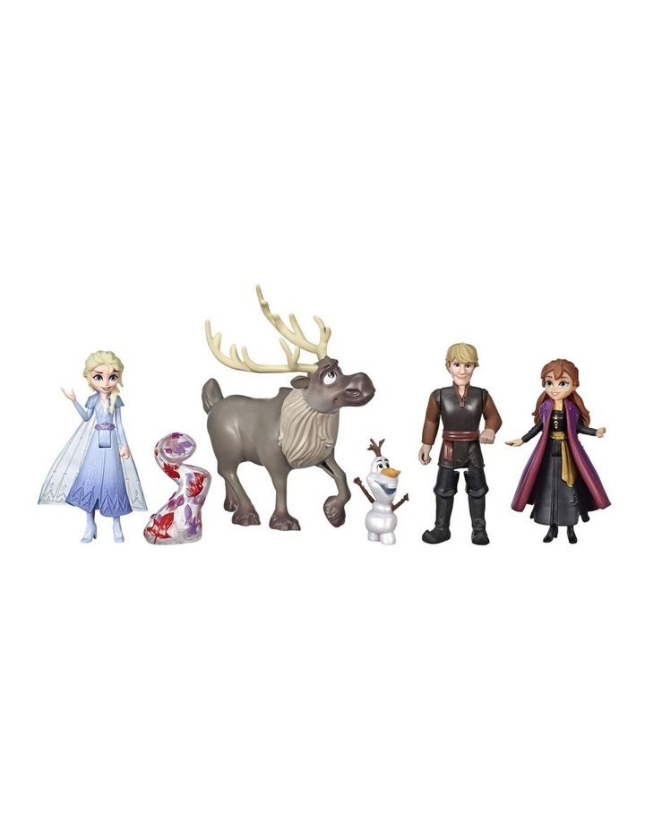 Frozen 2 Frozen Adventure Collection - 5 Small Dolls inc Anna, Elsa, Kristoff, Sven & Olaf image 2