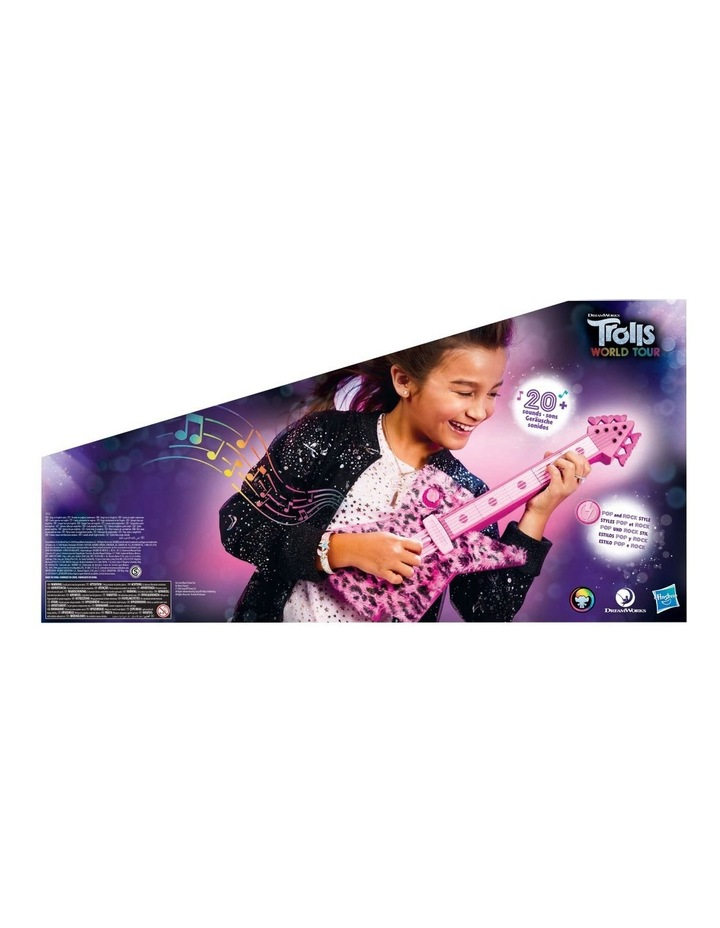 DreamWorks Trolls World Tour - Poppy's Rock Guitar - Fun Musical Toy - Plays Trolls Just Want to Have Fun Two Ways image 3