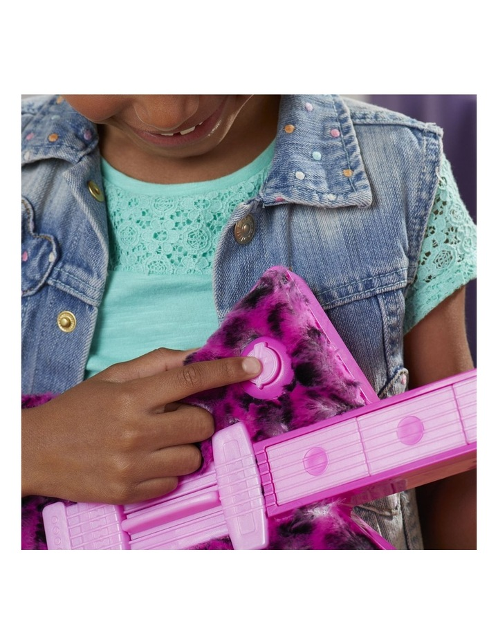 DreamWorks Trolls World Tour - Poppy's Rock Guitar - Fun Musical Toy - Plays Trolls Just Want to Have Fun Two Ways image 4