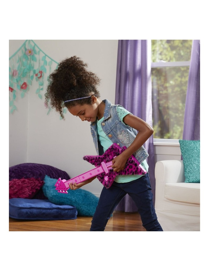 DreamWorks Trolls World Tour - Poppy's Rock Guitar - Fun Musical Toy - Plays Trolls Just Want to Have Fun Two Ways image 7