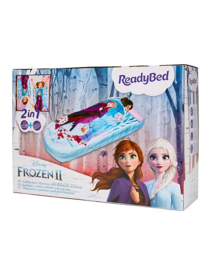 Disney Frozen Junior ReadyBed - 2 in 1 Kids Sleeping Bag and Inflatable Air Bed In a Bag With A Pump image 1