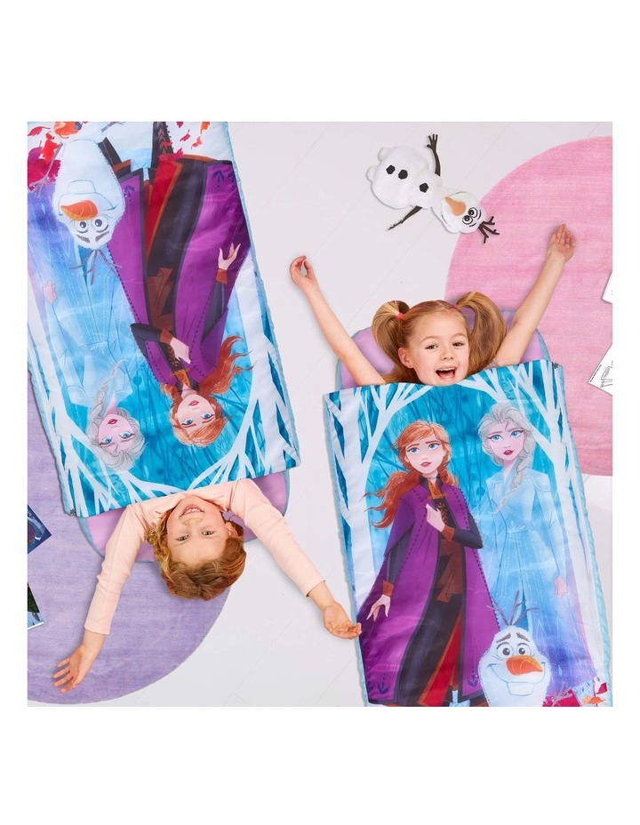 Disney Frozen Junior ReadyBed - 2 in 1 Kids Sleeping Bag and Inflatable Air Bed In a Bag With A Pump image 4