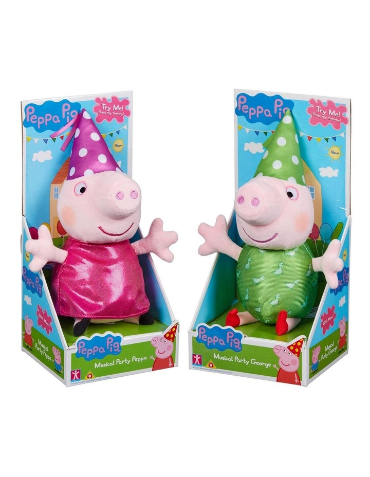 Peppa Pig Musical Party Peppa and George Assortment image 1