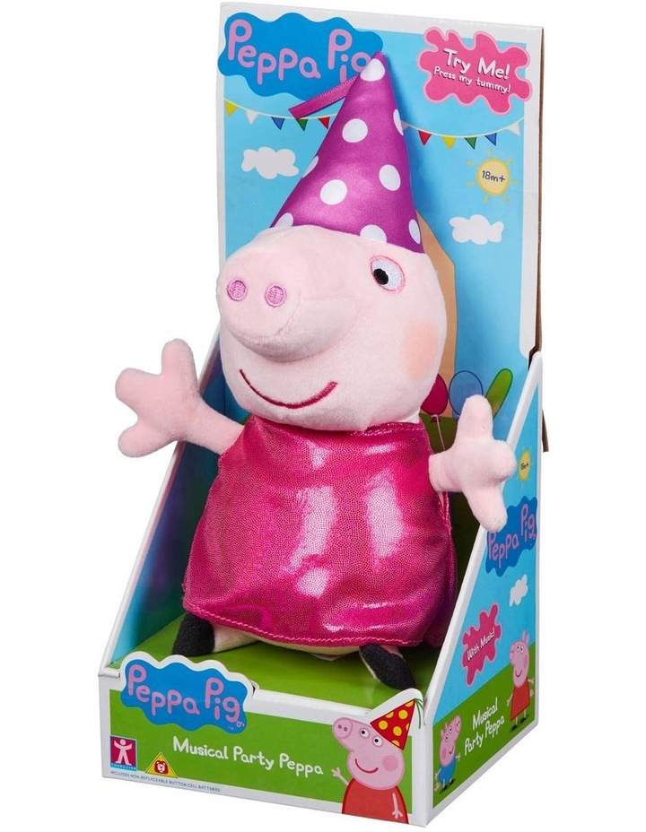 Peppa Pig Musical Party Peppa and George Assortment image 2