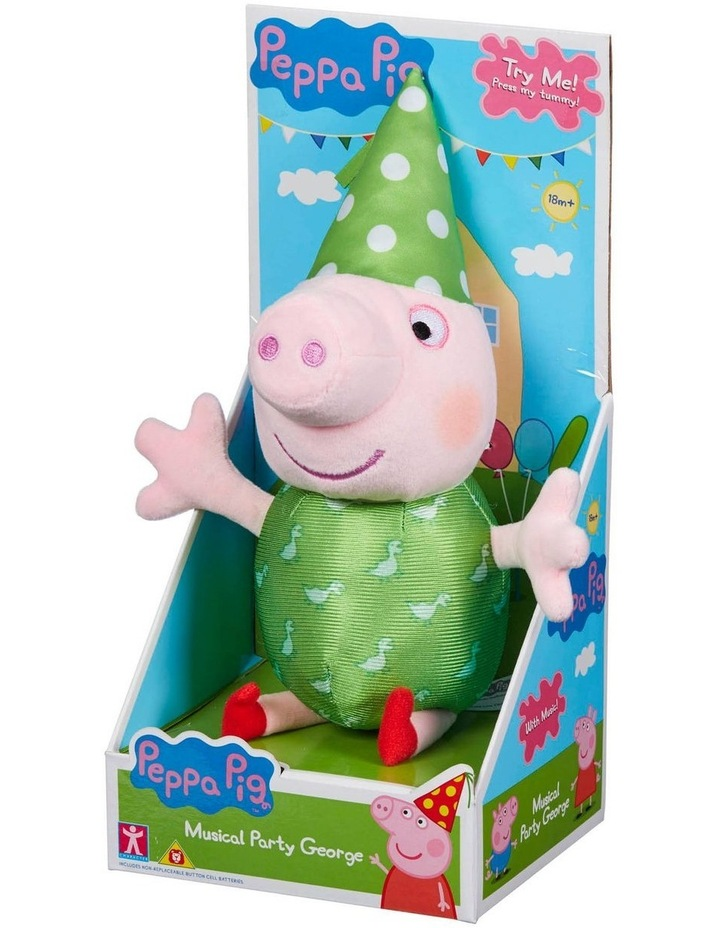 Peppa Pig Musical Party Peppa and George Assortment image 3