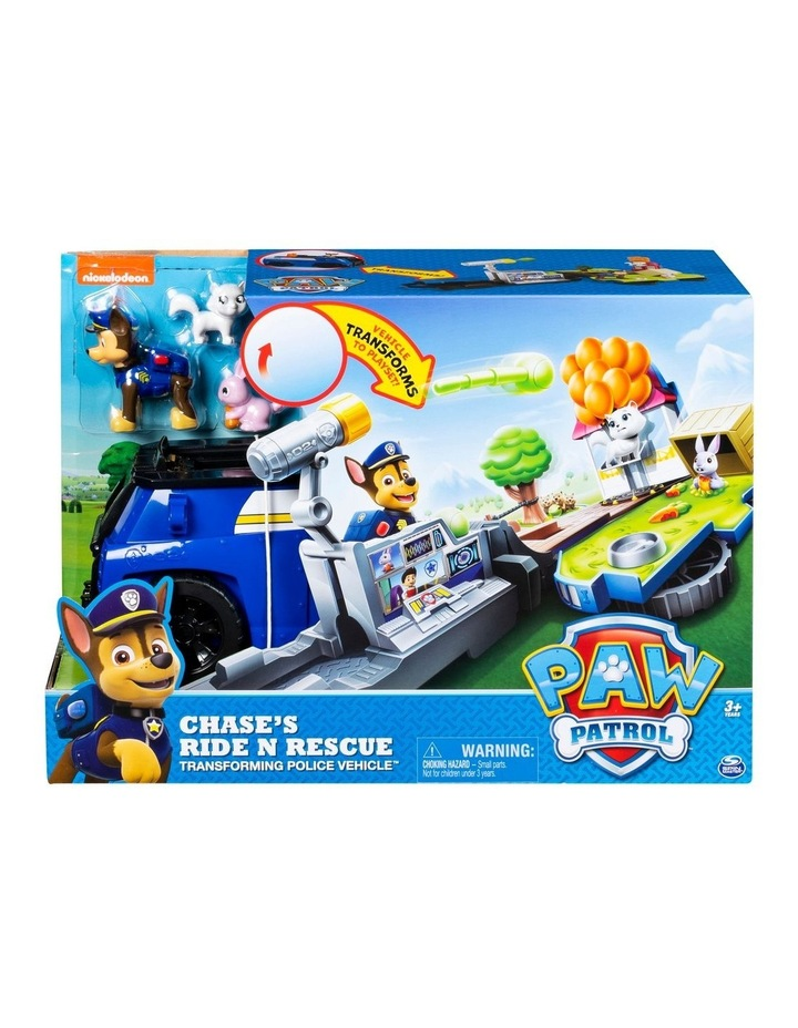 Paw Patrol Ride 'n Rescue Vehicles Assortment image 1