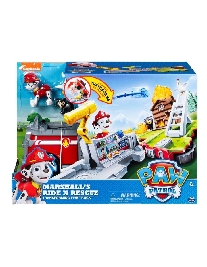 Paw Patrol Ride 'n Rescue Vehicles Assortment image 4