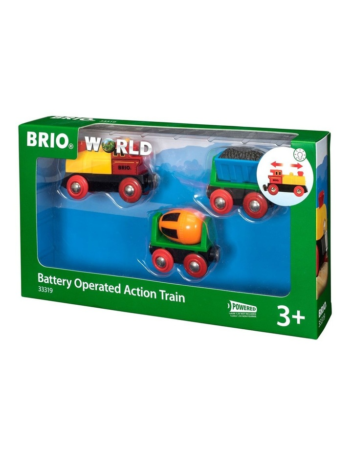 Battery Operated Action Train image 1