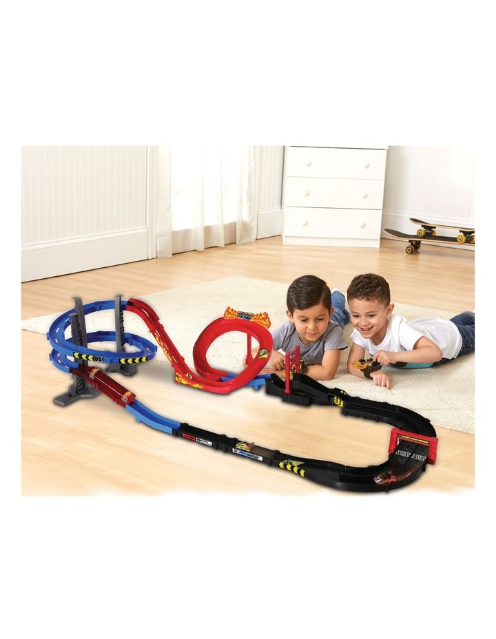 Turbo Force Racers Race Track (With Racer) image 5