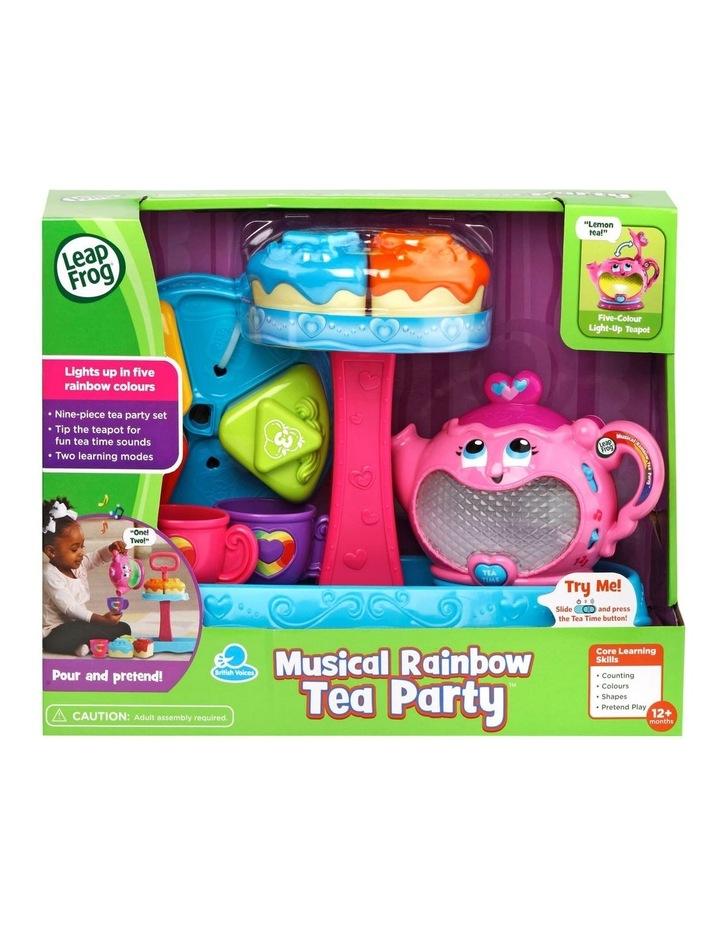 Musical Rainbow Tea Party image 1