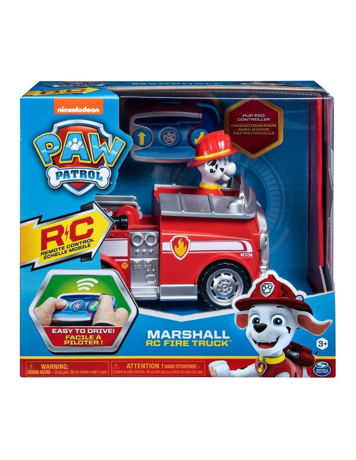 Paw Patrol Remote Control Vehicle - Chase & Marshall Assortment image 1