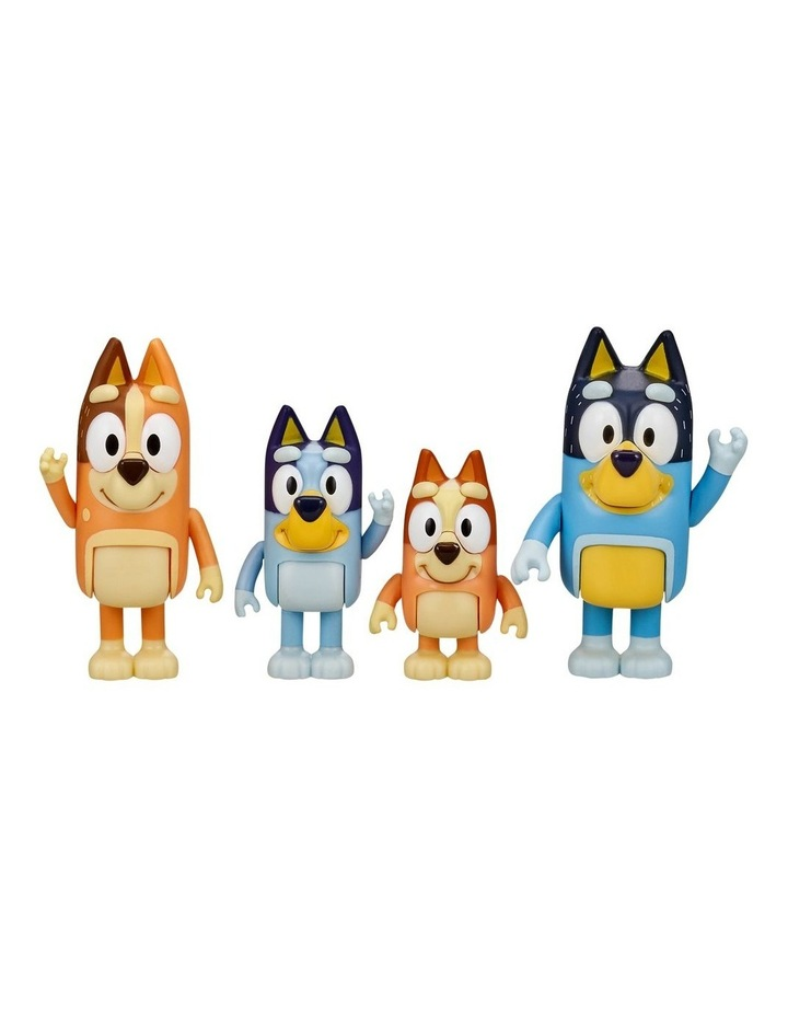 Bluey Family 4 Pack Figurines image 2