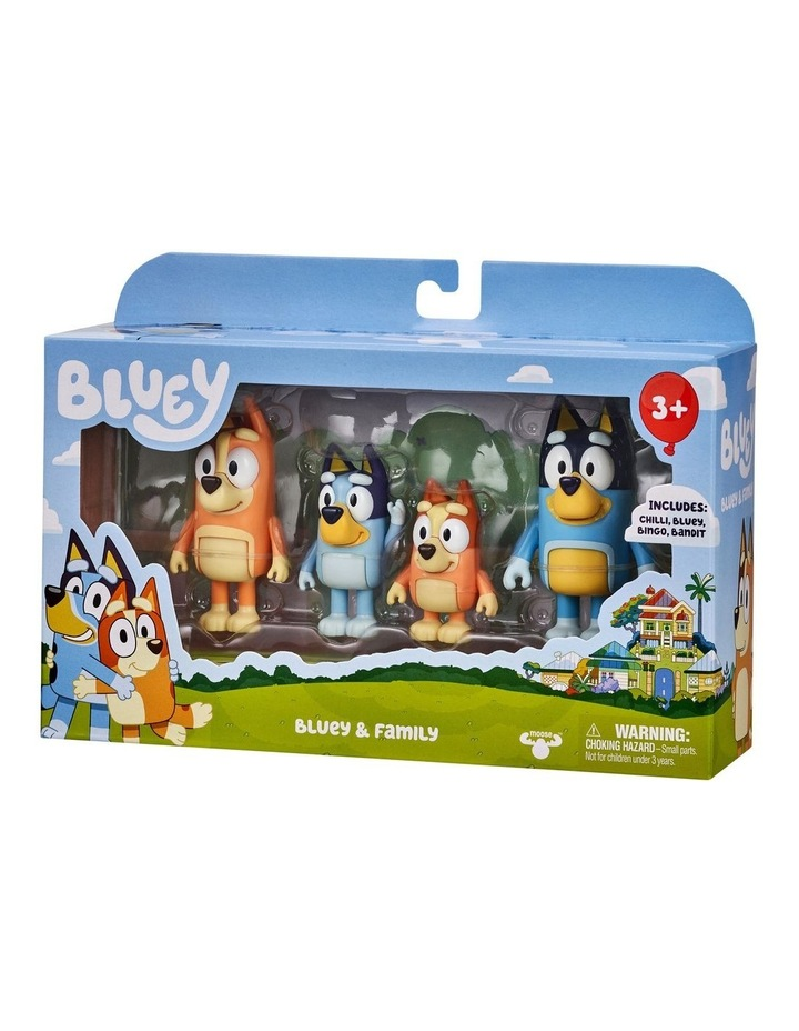 Bluey Family 4 Pack Figurines image 3