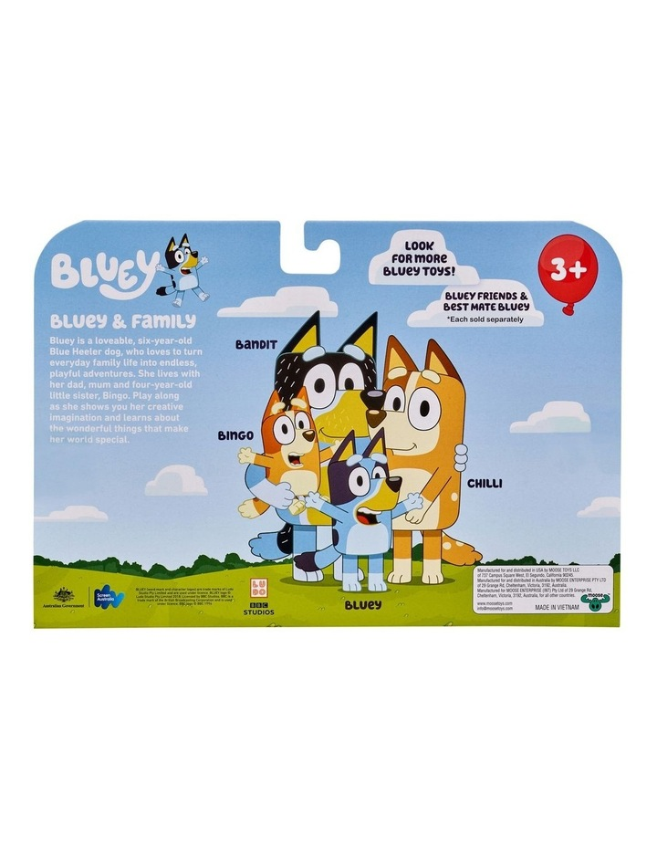 Bluey Family 4 Pack Figurines image 4