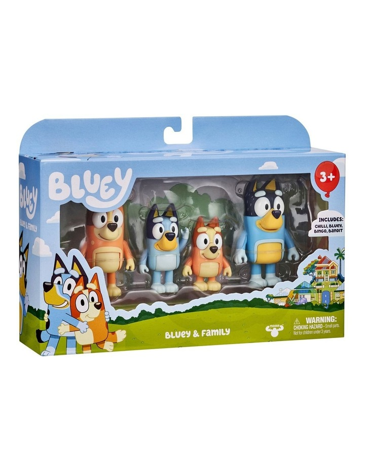 Bluey Family 4 Pack Figurines image 5