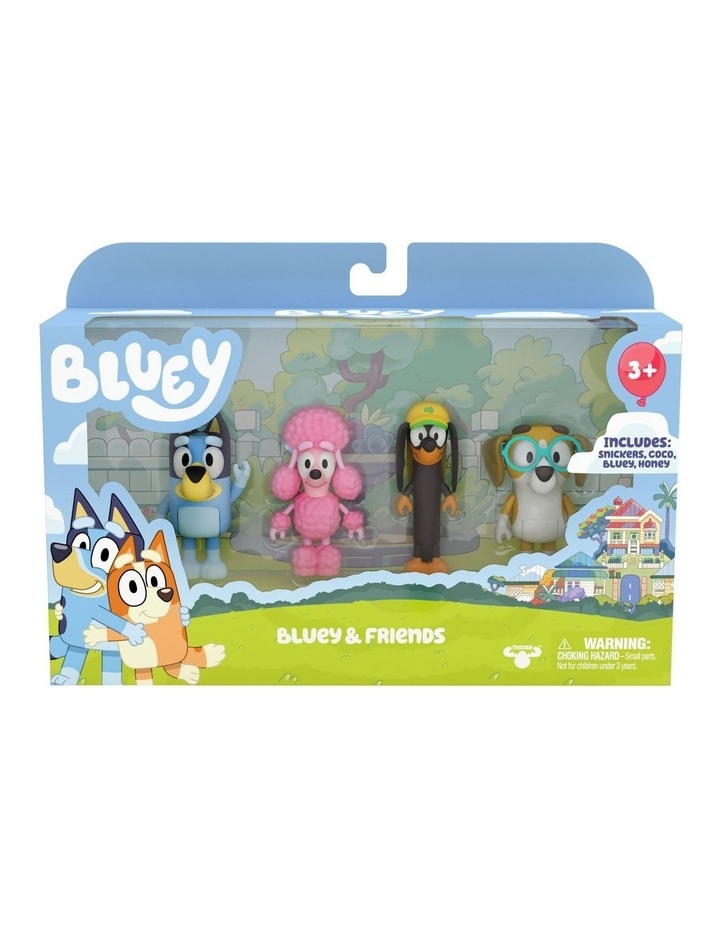 Bluey & Friends: Bluey, Coco, Snickers & Honey image 1