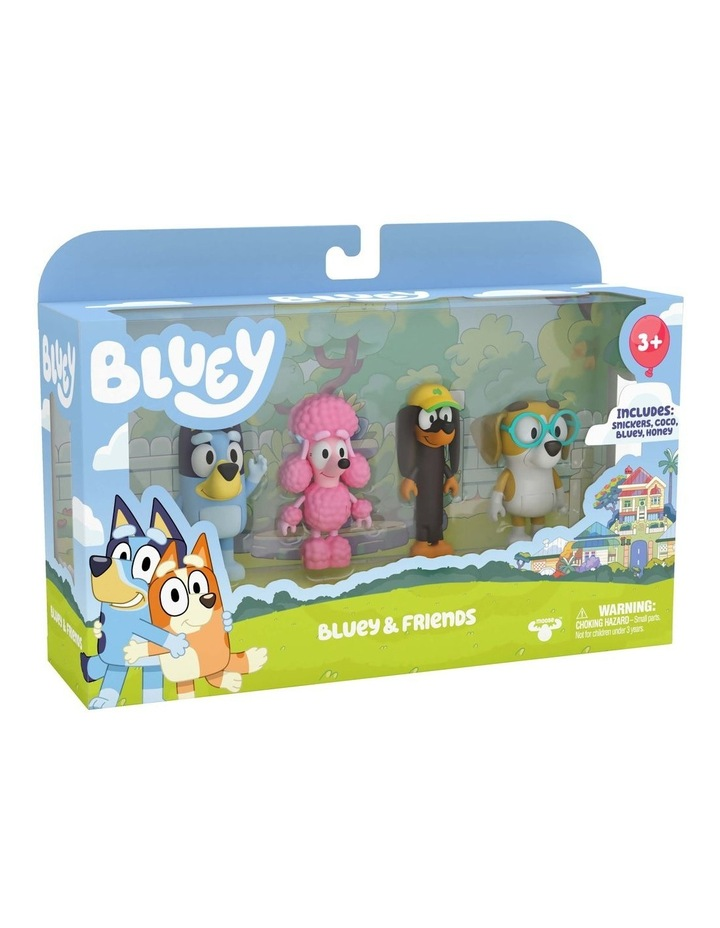 Bluey & Friends: Bluey, Coco, Snickers & Honey image 6
