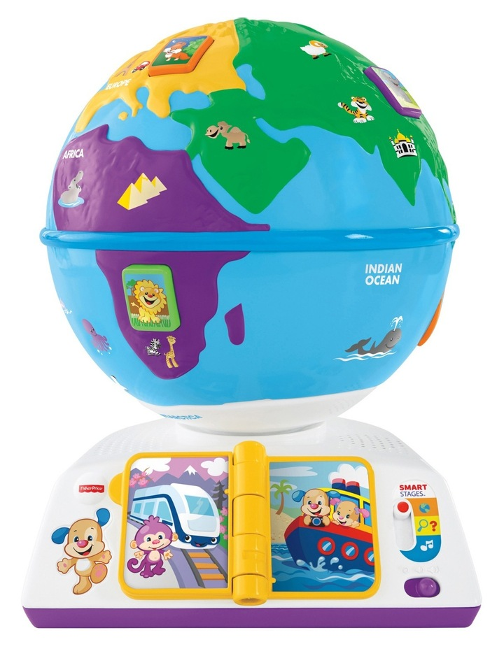 Smart Stages Plus Greetings Globe image 1