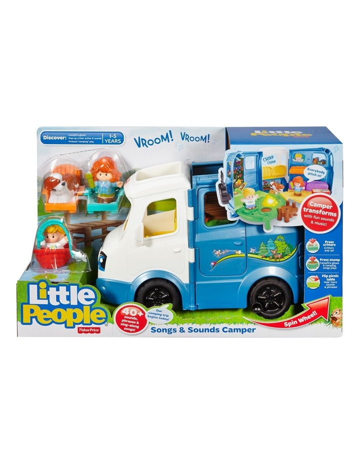 Little People Songs and Sounds Camper image 1
