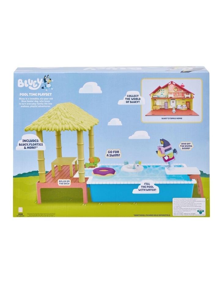 Bluey Pool Time Fun Playset image 6