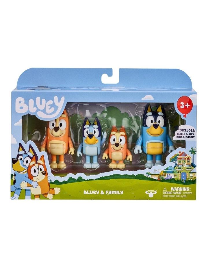 Bluey & Family Figure 4-Pack image 2