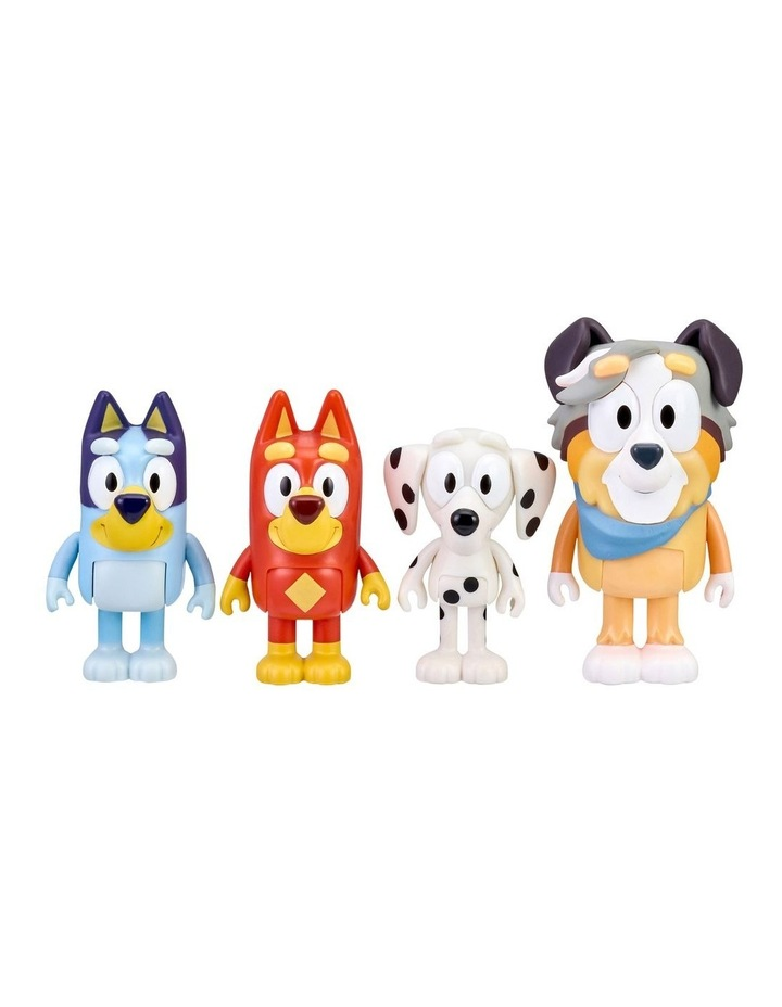 Bluey & Family Figure 4-Pack image 3