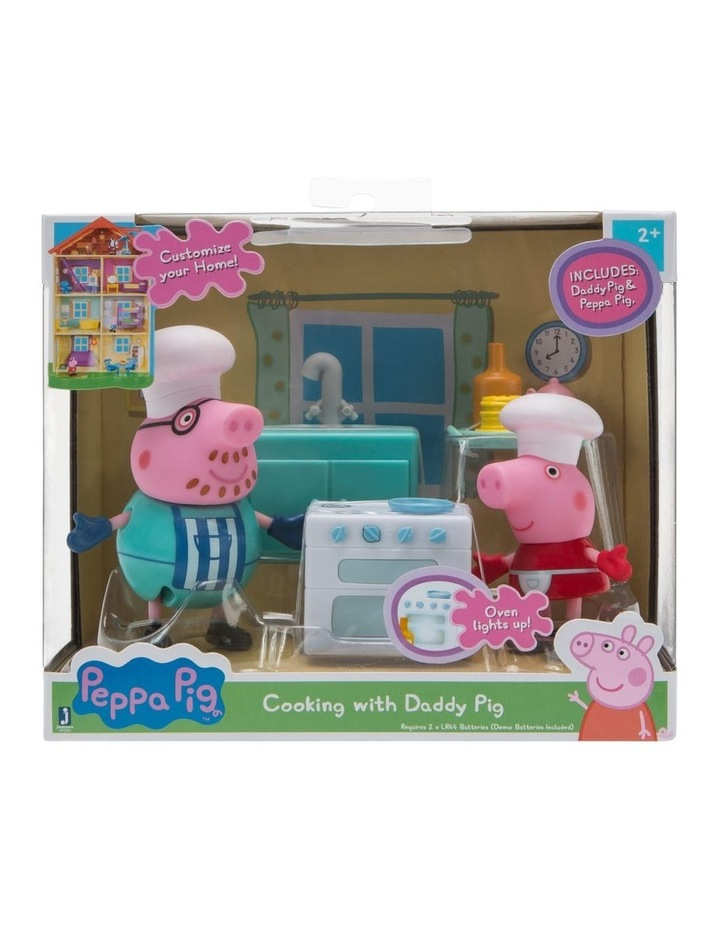 Peppa Pig Little Rooms Playsets - Assorted image 1