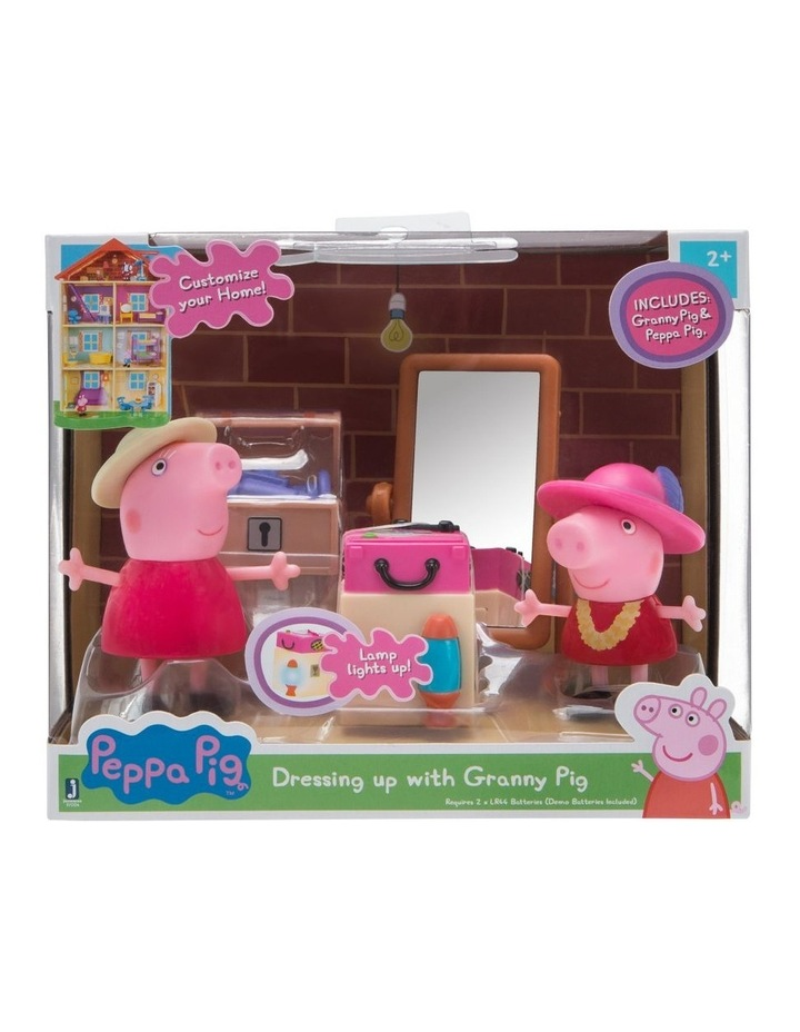 Peppa Pig Little Rooms Playsets - Assorted image 2