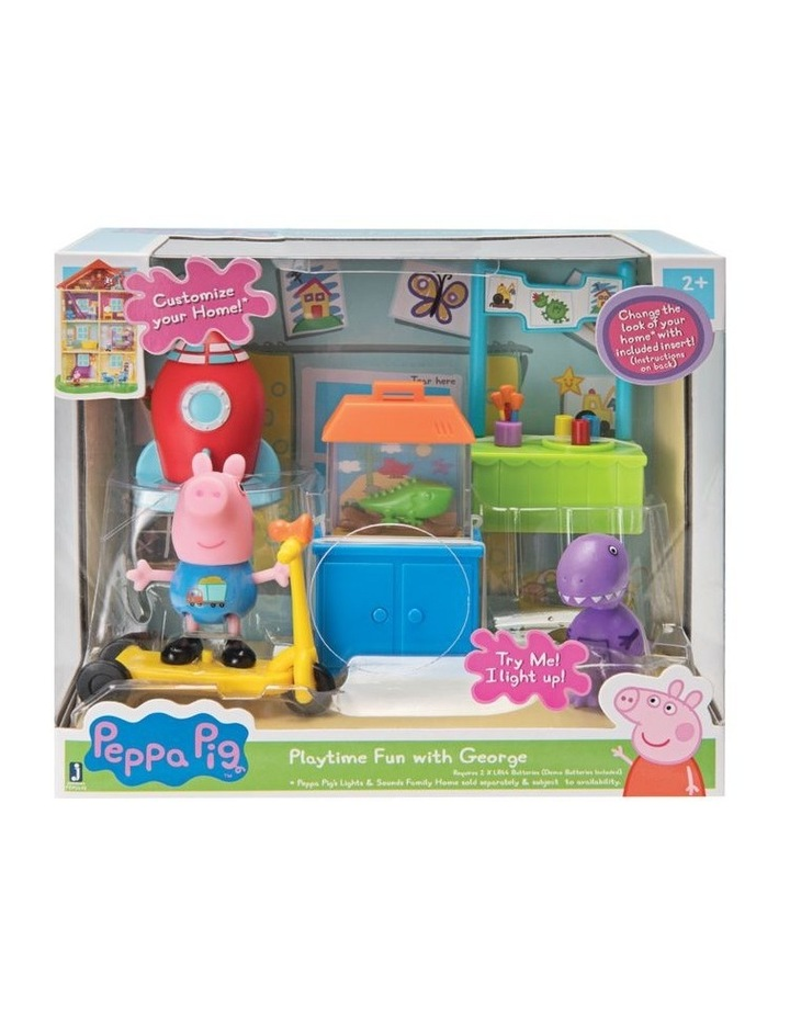 Peppa Pig Little Rooms Playsets - Assorted image 3