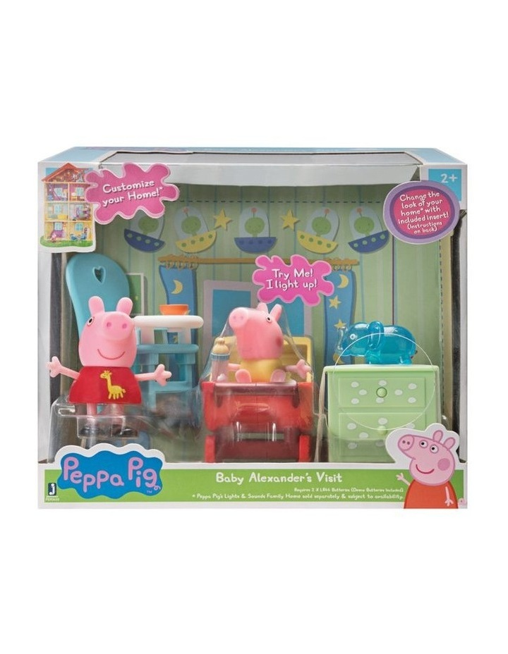 Peppa Pig Little Rooms Playsets - Assorted image 4