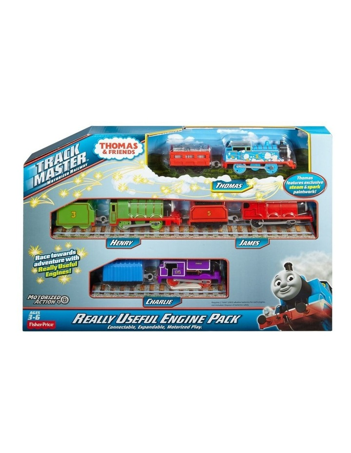 Thomas & Friends Multi-Pack Of Motorised Toy Trains image 1
