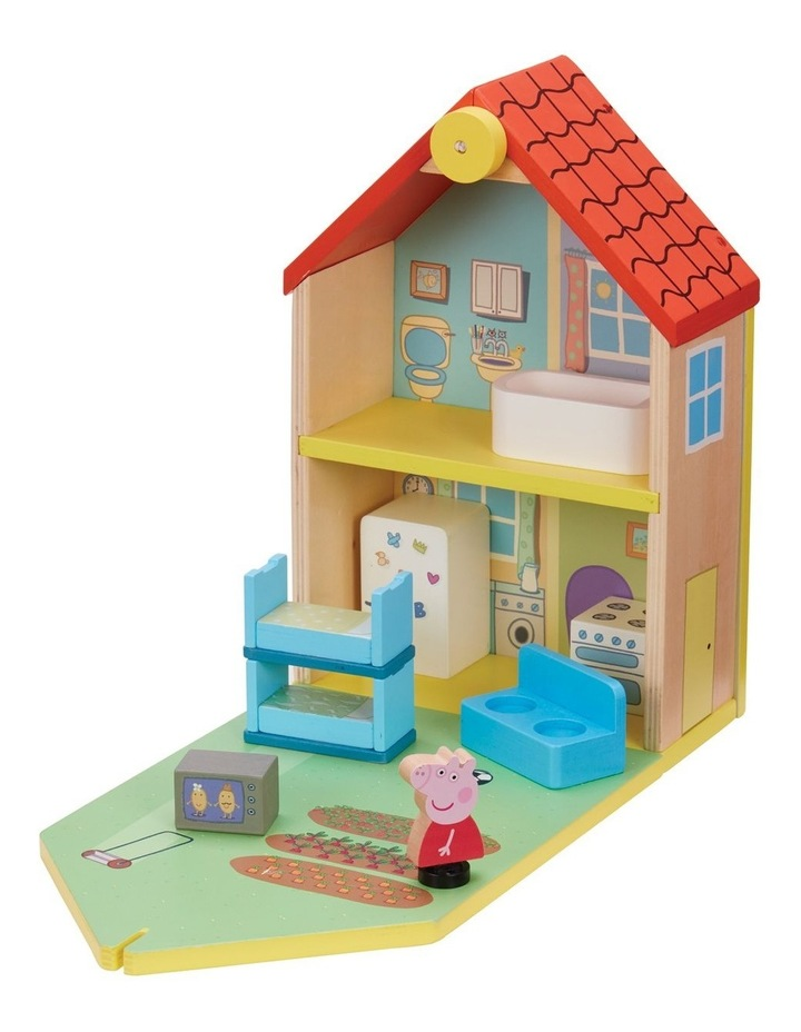 Peppa Pig Wood Play Family Home image 1