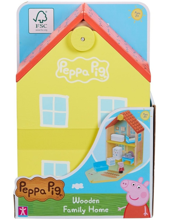 Peppa Pig Wood Play Family Home image 2